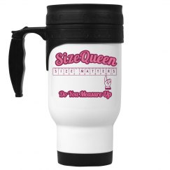 Size Queen Travel Mug
