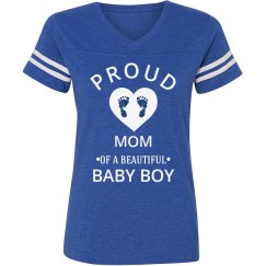 Mom of a beautiful baby boy