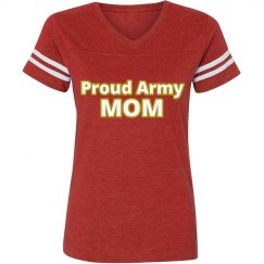 Proud Army Mom Vintage Tee