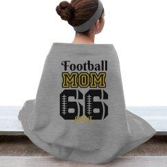Football Mom Stadium Blanket
