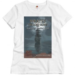 """Pirates"" book cover tee"