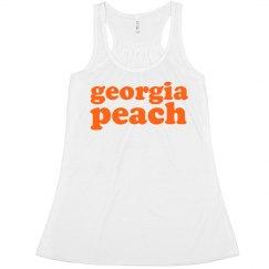 Georgia Peach Text