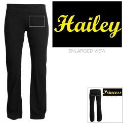 Hailey, yoga pants