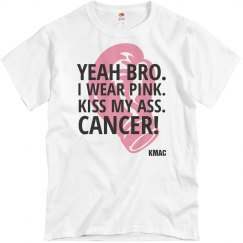Men's Tee KissMyAssCANCER