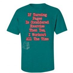 I Workout (Bookworm) Top