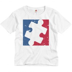 Distressed Youth Major League AUTISM Logo Shirt