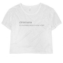 clinomania shirt