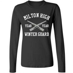 High School Winter Guard