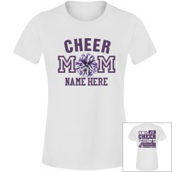 Purple Cheer Mom