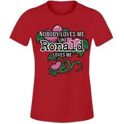 Love me like Ronald
