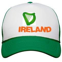 Irish Harp Peak Cap