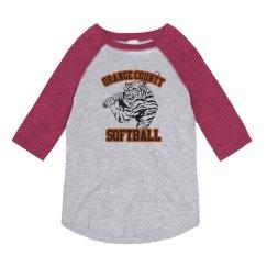 A Big Tiger Softball Fan