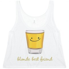 Blonde Tequila Friend