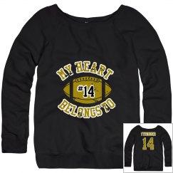 Mom's Football Sweatshirt