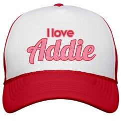 I love Addie