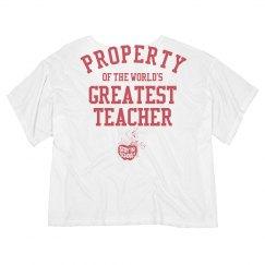 Property of the world's greatest teacher
