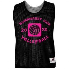 Neon Volleyball Pinnie