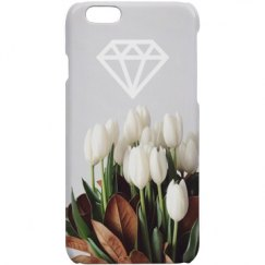 DIAMOND & FLOWER IPHONE 5 CASE