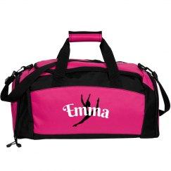 Emma personalized gym bag