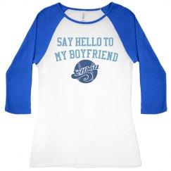 Say hello to my boyfriend