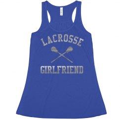 Cute Metallic Lacrosse Girlfriend