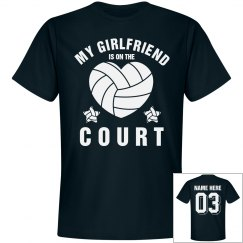 Custom Volleyball Girlfriend