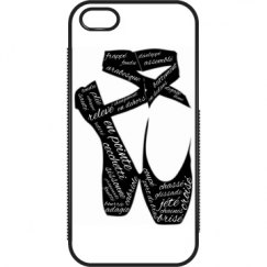 en pointe iphone 5 case