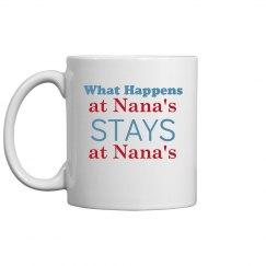 Staying at Nana's