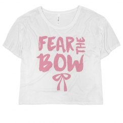 Fear This Pink Bow