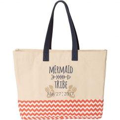 Beach/mermaid bridesmaid bag
