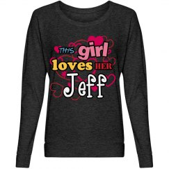 This girl loves Jeff!