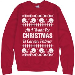 Football Ugly Sweater C. Palmer