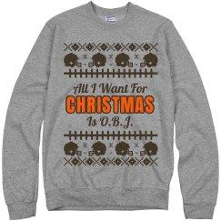 Football Ugly Sweater J. Thomas