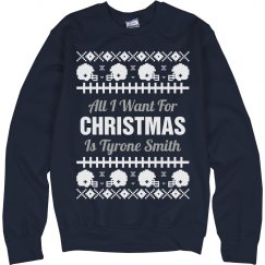 Football Ugly Sweater T. Smith