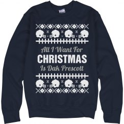 Football Ugly Sweater D. Bryant