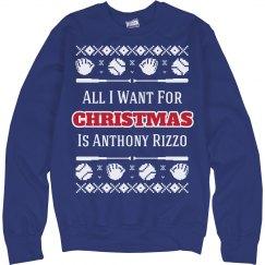 Mrs. Rizzo Fan Funny Ugly Sweater