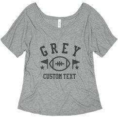 Custom Crimson And Grey BFF's