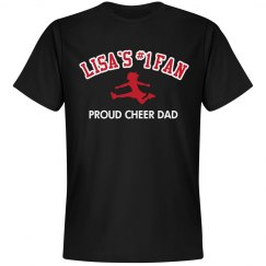 Lisa's Proud Cheer Dad