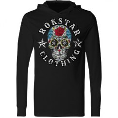 Skull Long Sleeve Hood