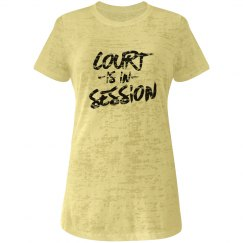 Court is in Session Tank Top