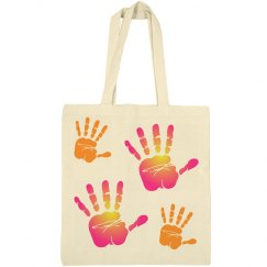 Cool Handprint Bag
