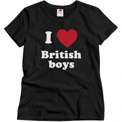 I love British boys!