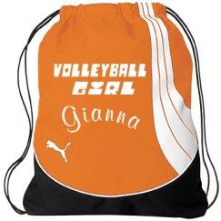 Volley Ball Girl