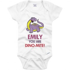 Emily you are Dino-mite