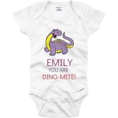 Emily you are Dino-mite