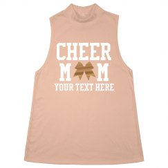 Rhinestone Custom Cheerleading Mom