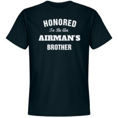 Honored to be airman's brother