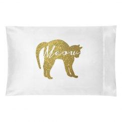 Golden Glitter Cat