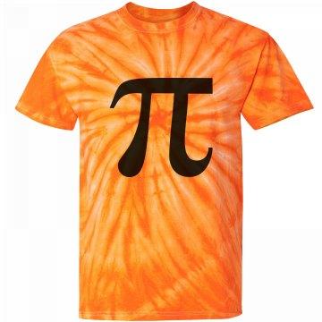 A Tie Dye Pumpkin Pie