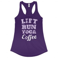 LIFT RUN YOGA COFFEE